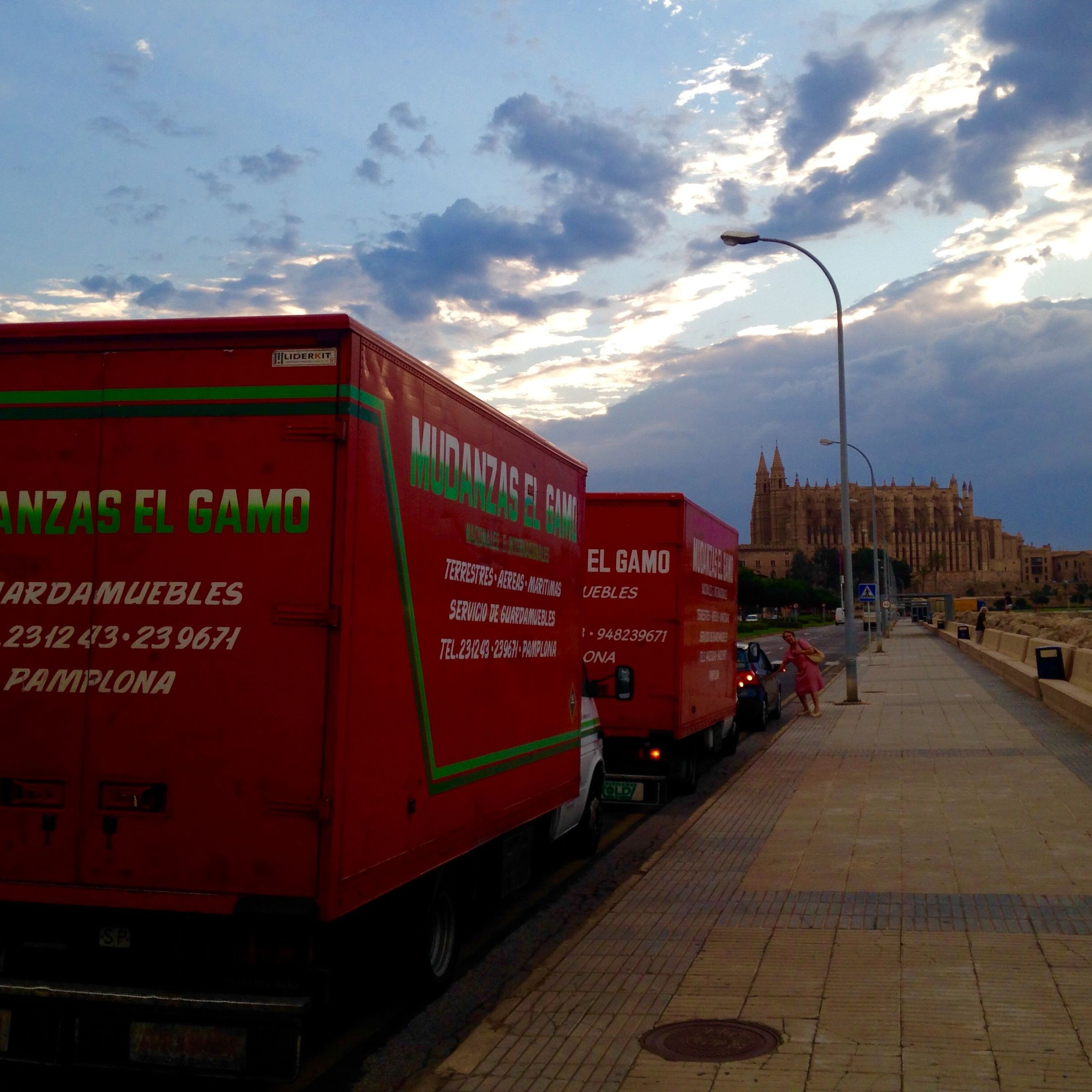 Mudanzas Gamo de Navarra a Mallorca.