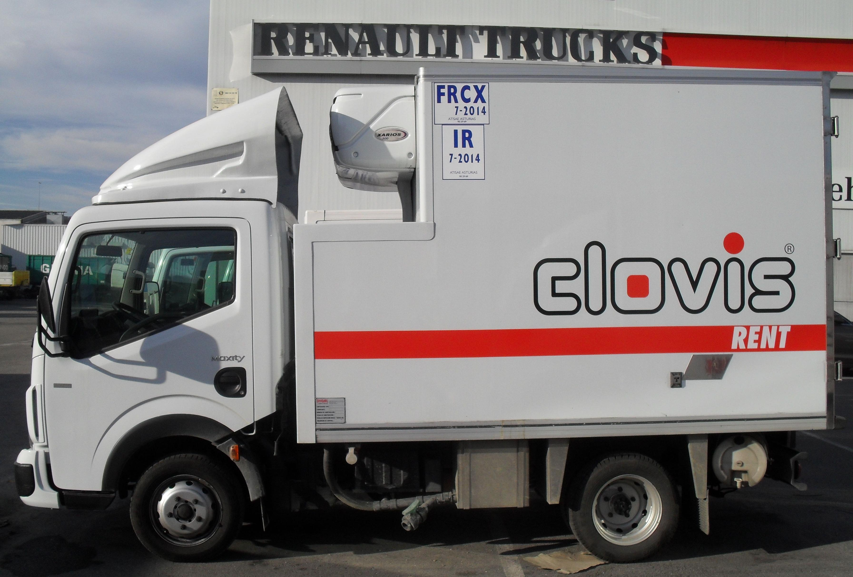 Camiones carrozados frigoríficos: Catálogo de Alquivehinsa