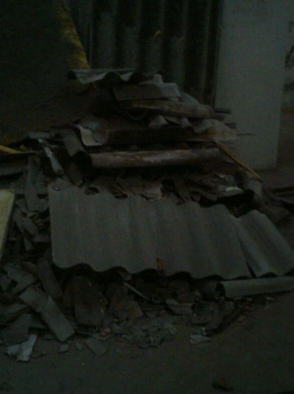 Tratamiento y recogida de escombros