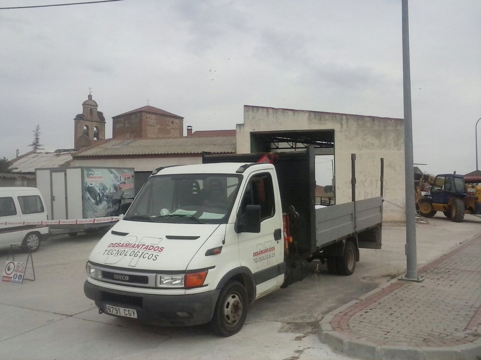 Desamiantado en Ávila