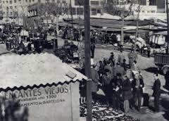 Tienda de antigüedades en el barrio del Eixample