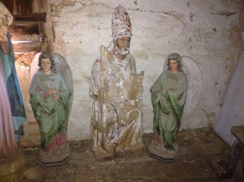 Estatuillas antiguas