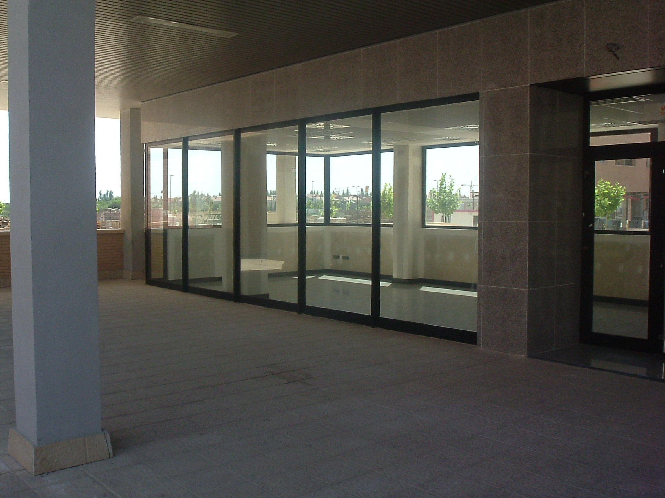 División en cristal para oficinas Zaragoza