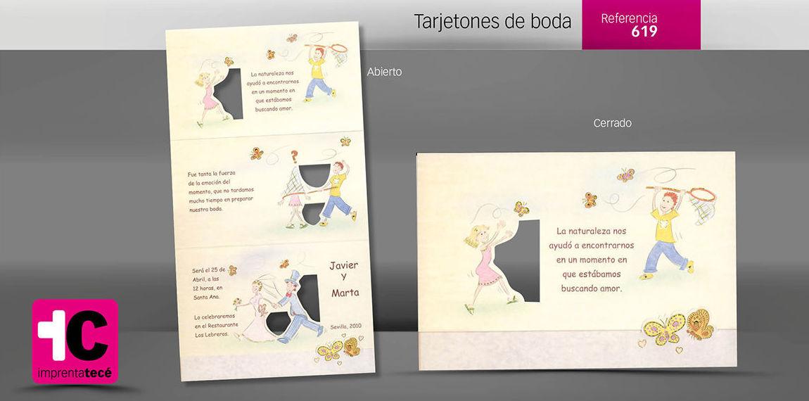 Especialistas en el diseño e impresión de invitaciones de boda originales