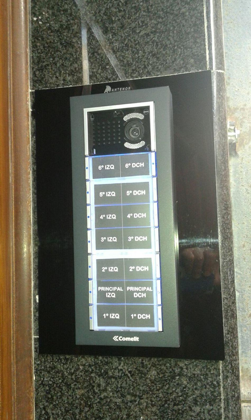Instalación de videoporteros en Bizkaia