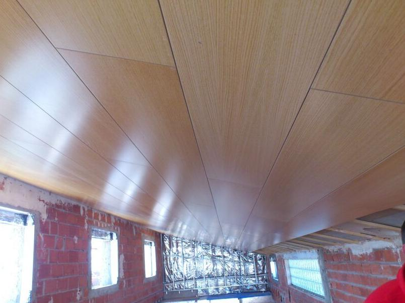 Techos revestidos de madera