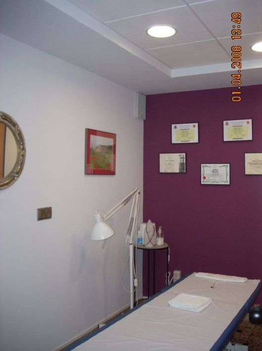 Tratamiento con masajes