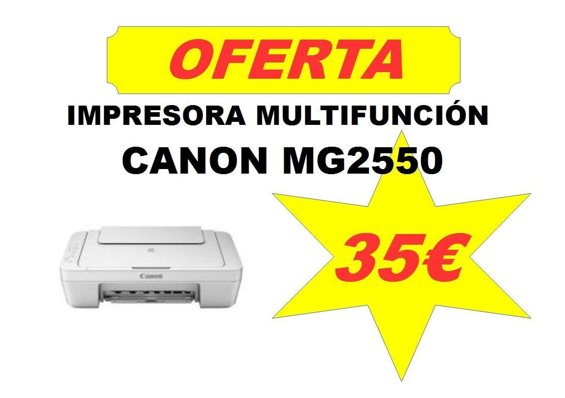 Multifunción Canon MG2550