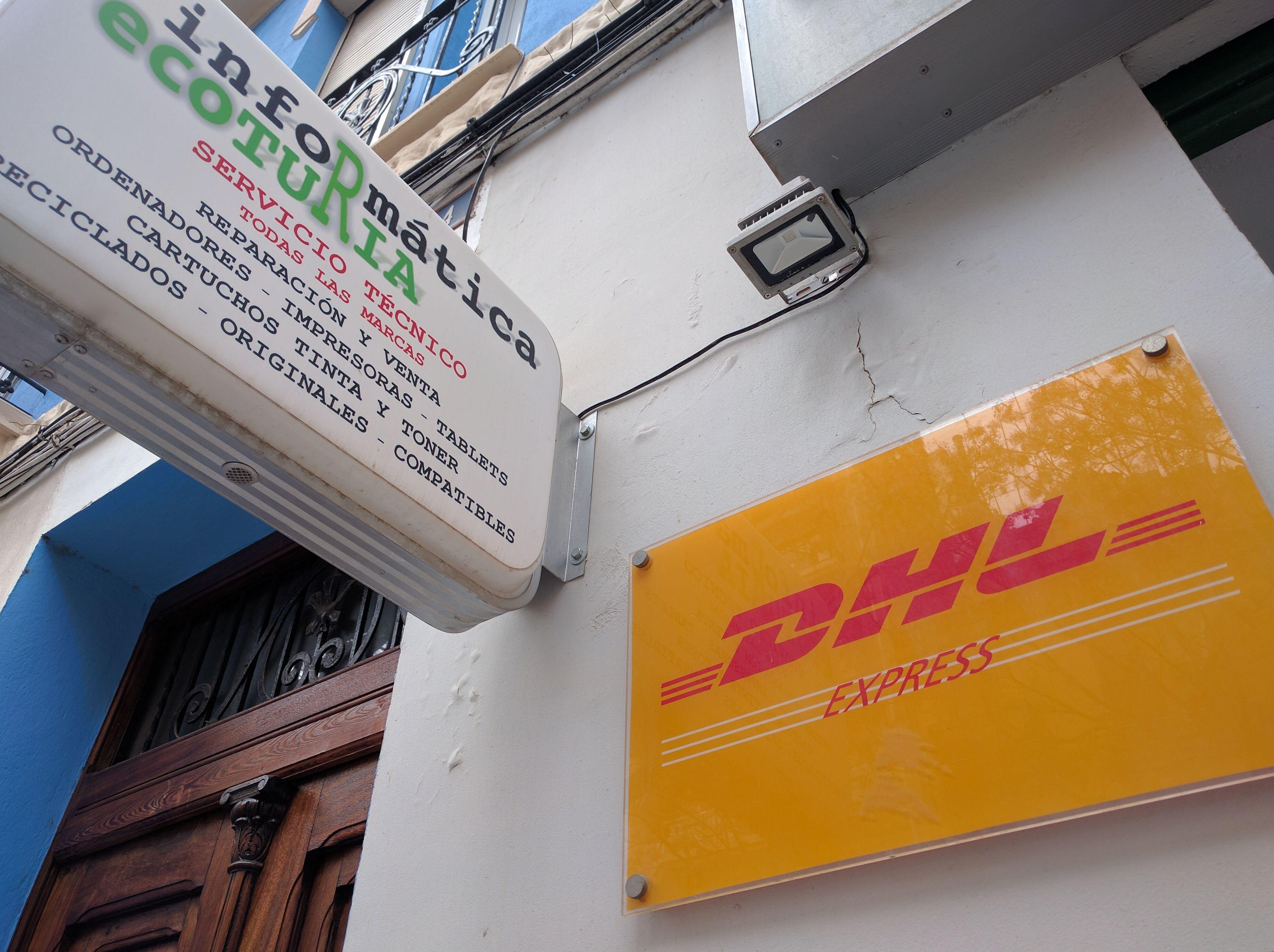 Tu Punto de Servicio DHL