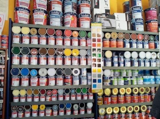 Primeras marcas en pinturas y barnices.