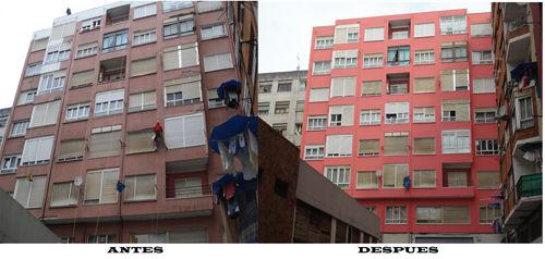 Foto 91 de Trabajos verticales en Torrelavega | Acebo Rehabilitación
