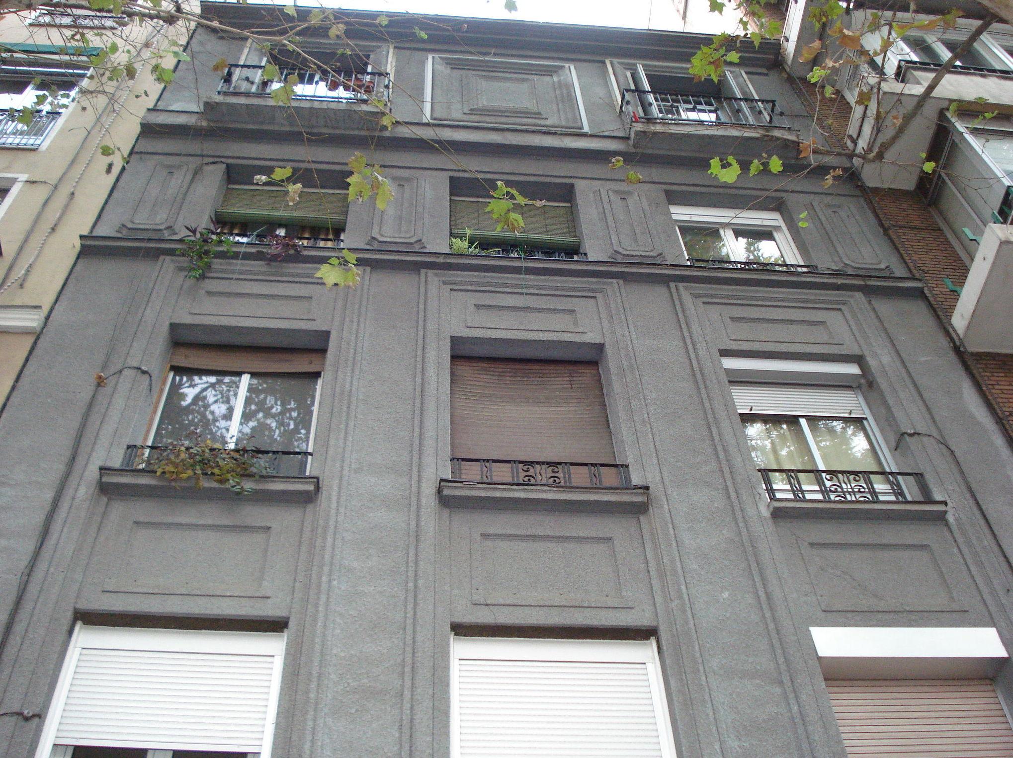 Restauración fachada. Estado anterior