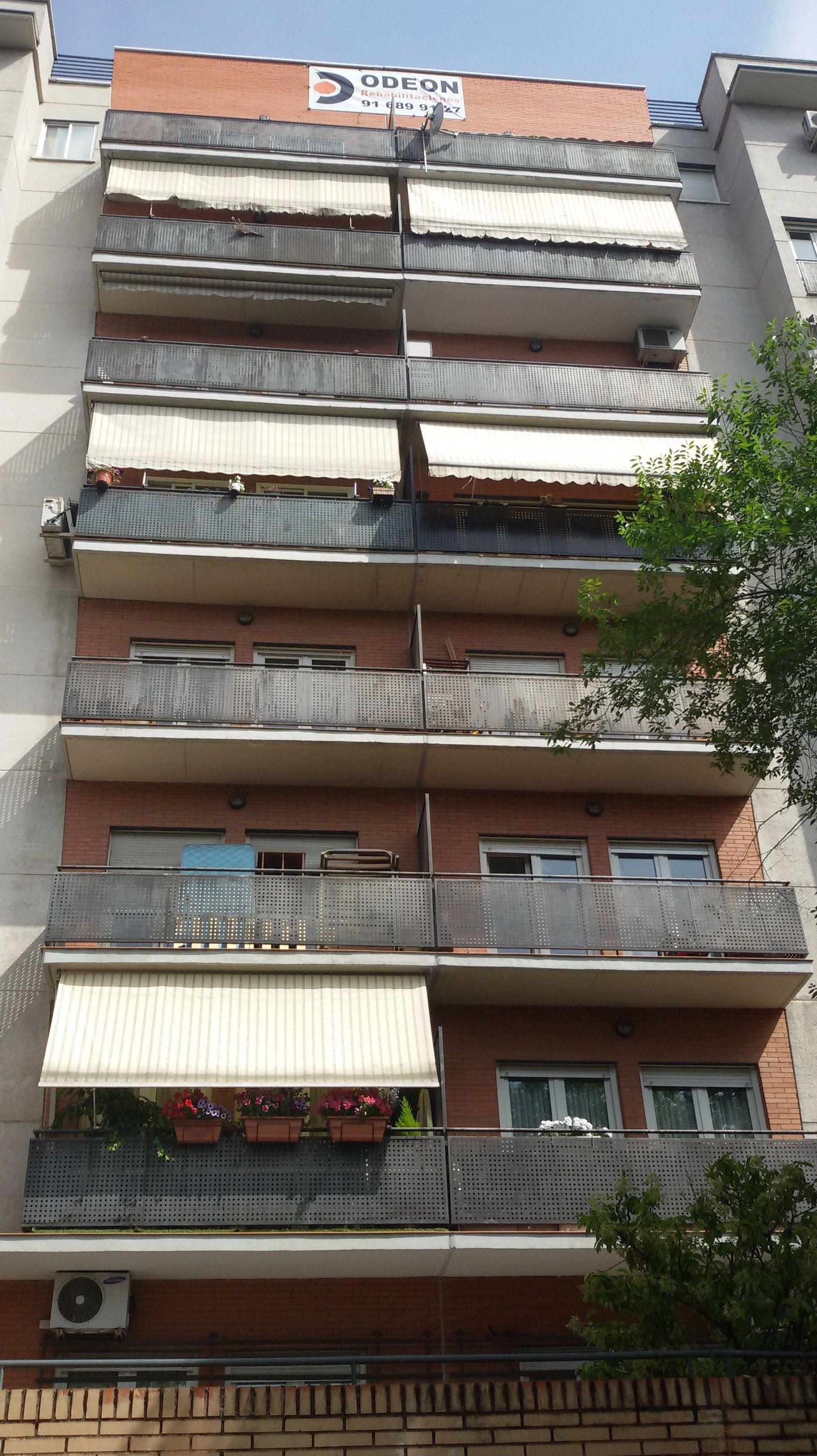 Rehabilitación de fachadas. Estado reformado