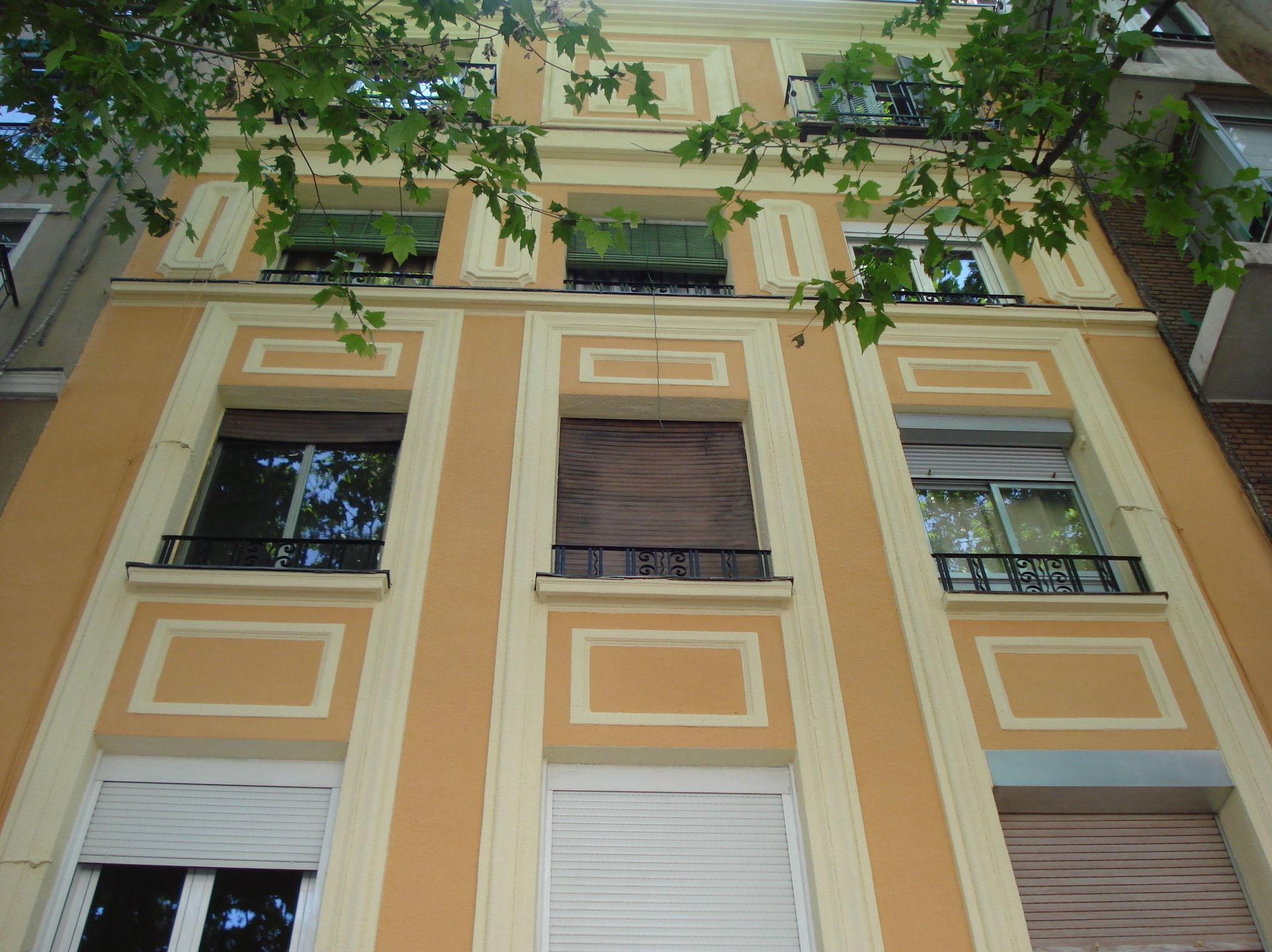 Restauración fachada. Estado reformado