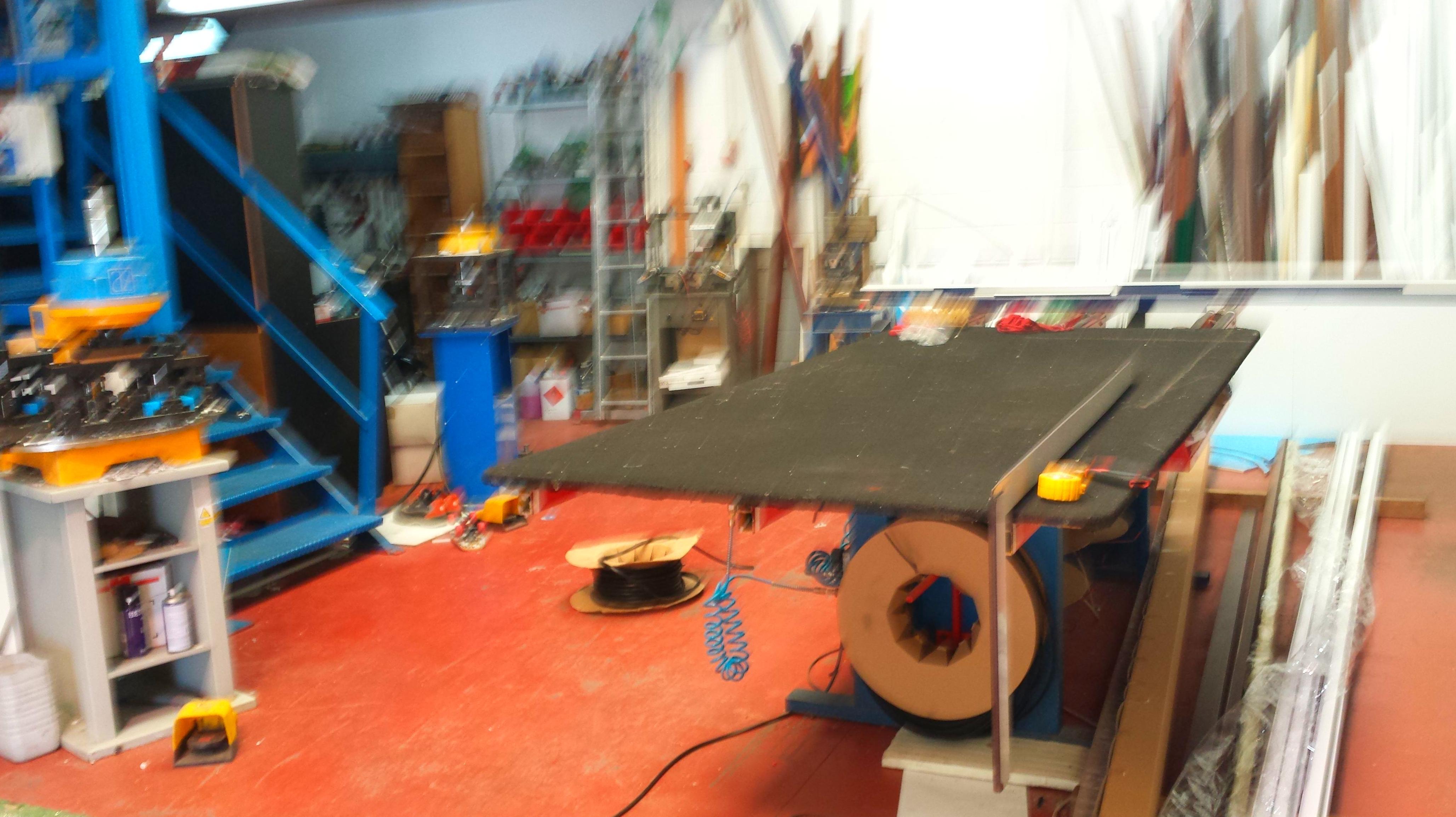 Proyecto instalaciones taller de carpintería aluminio (actividad calificada medio ambiental-mente)