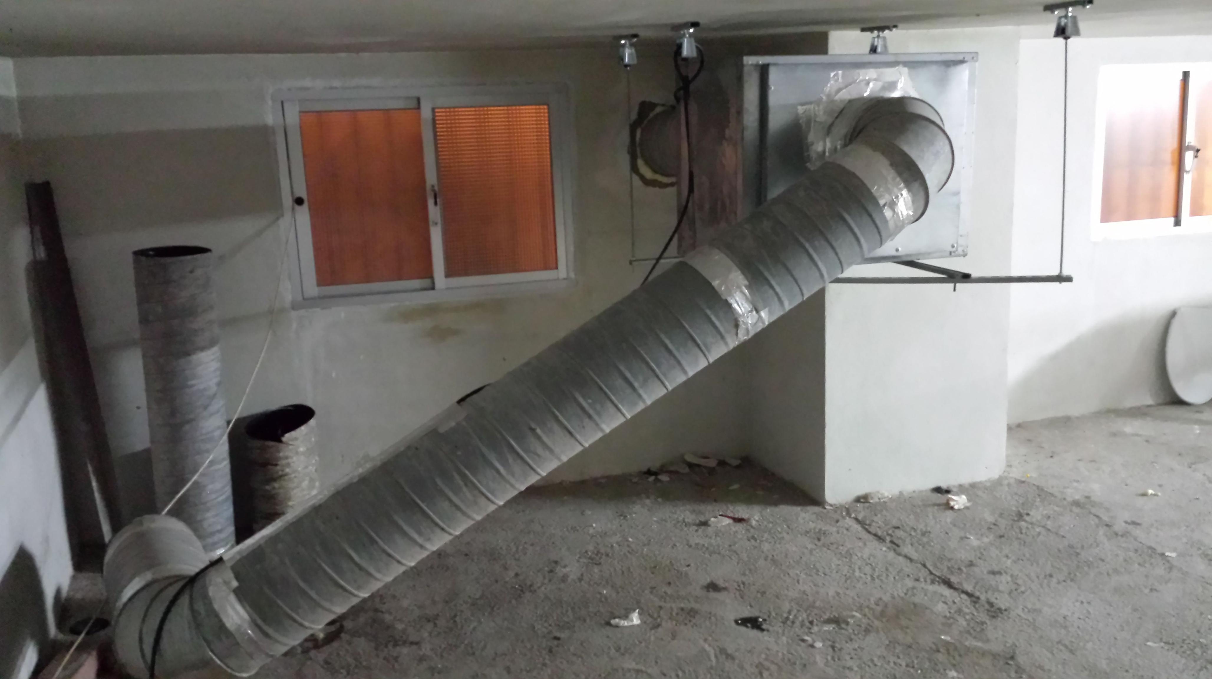 Ej. Instalación sistema filtronic, eliminación de grasas y olores (actividades calificadas)