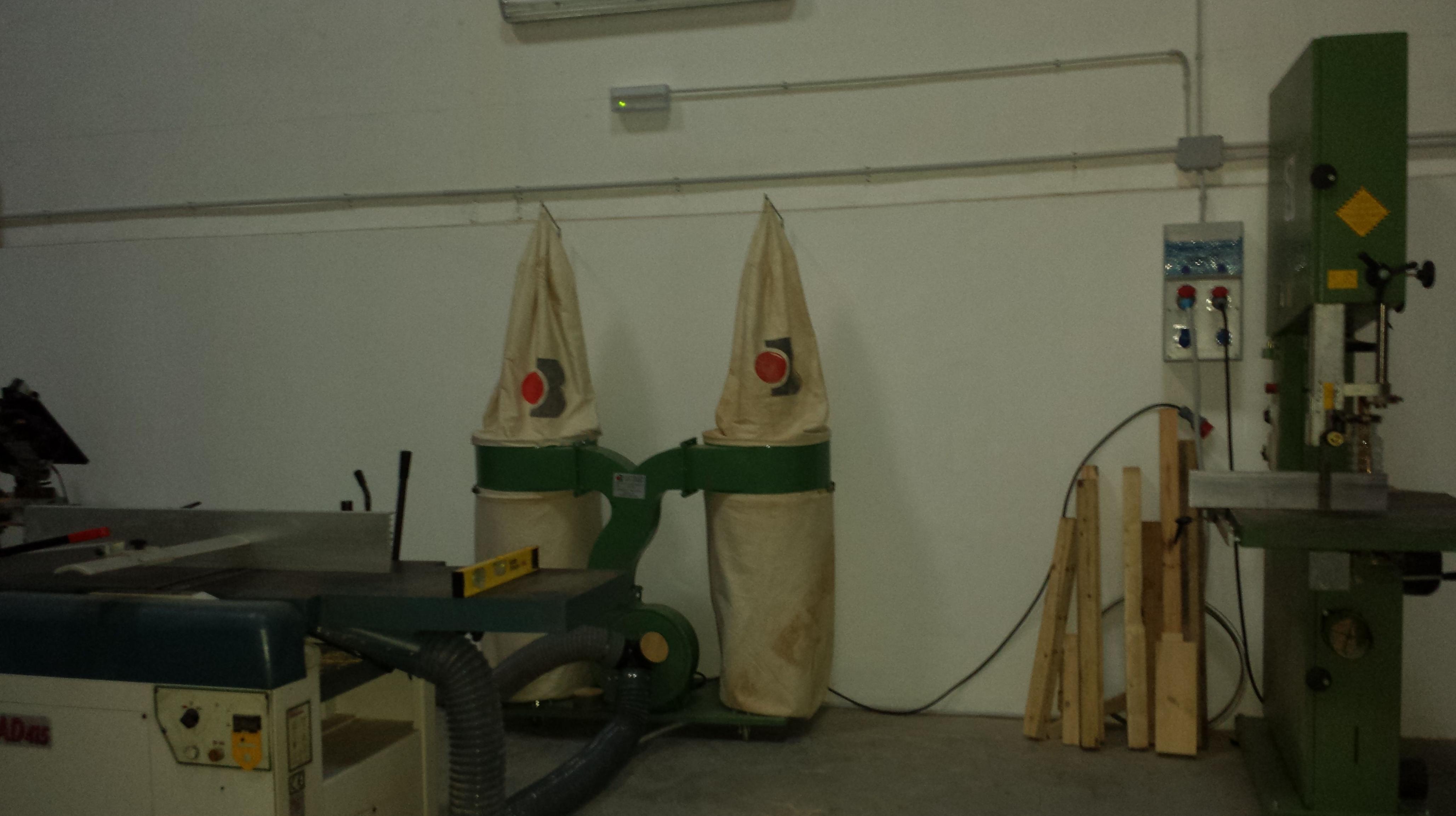 Proyecto carpintería madera (actividad calificada medio ambiente)