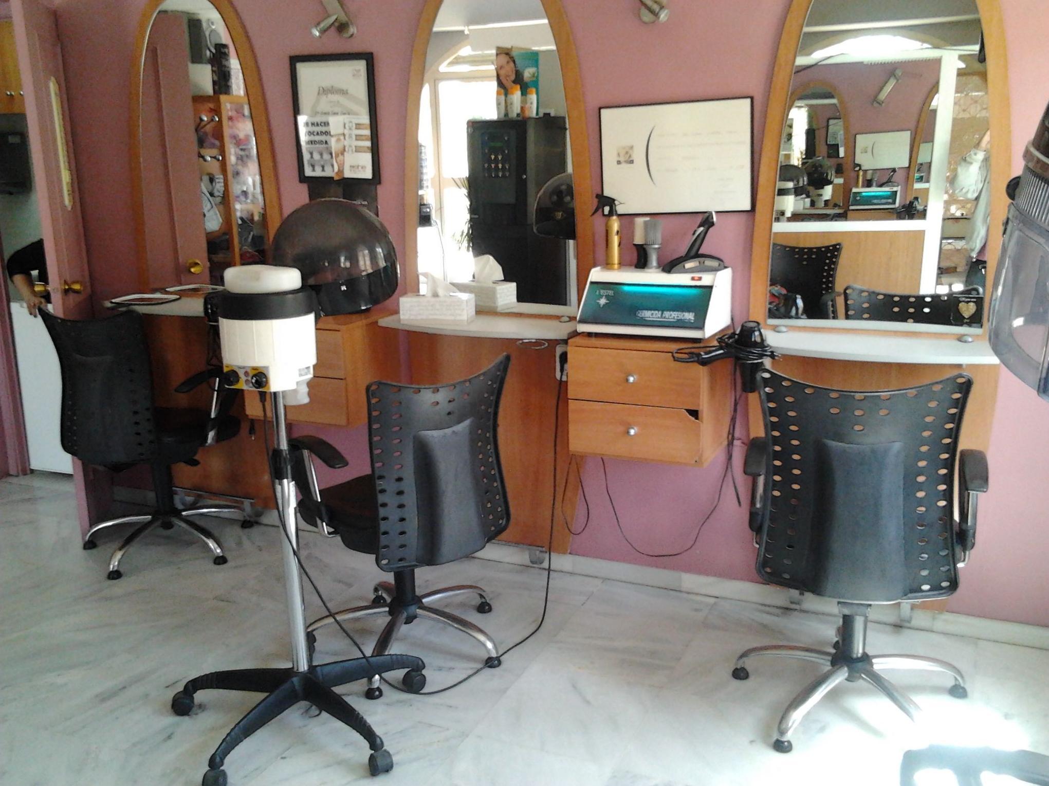 Instalación de un salón de peluquería y estética