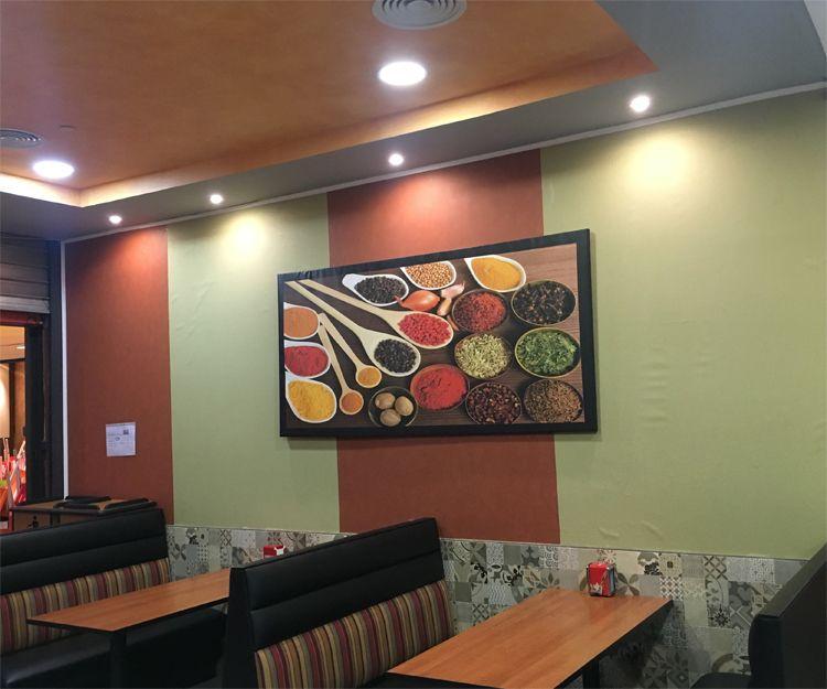 Amplio salón para comer