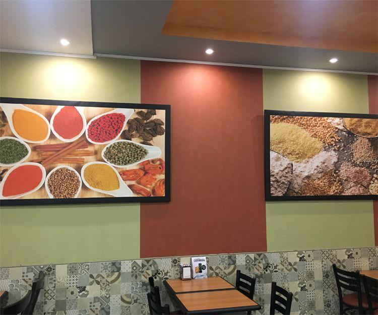 Instalaciones del restaurante turco en Zaragoza
