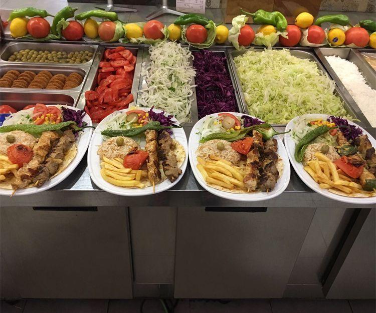 Comida turca excelente en Zaragoza