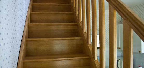 Barandillas y escaleras de madera