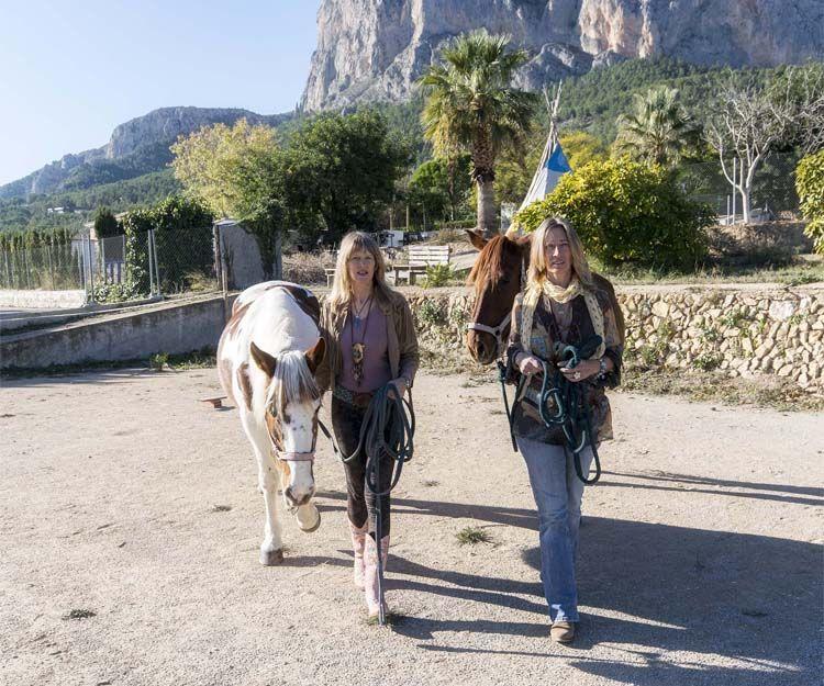 Unión con la naturaleza y los caballos