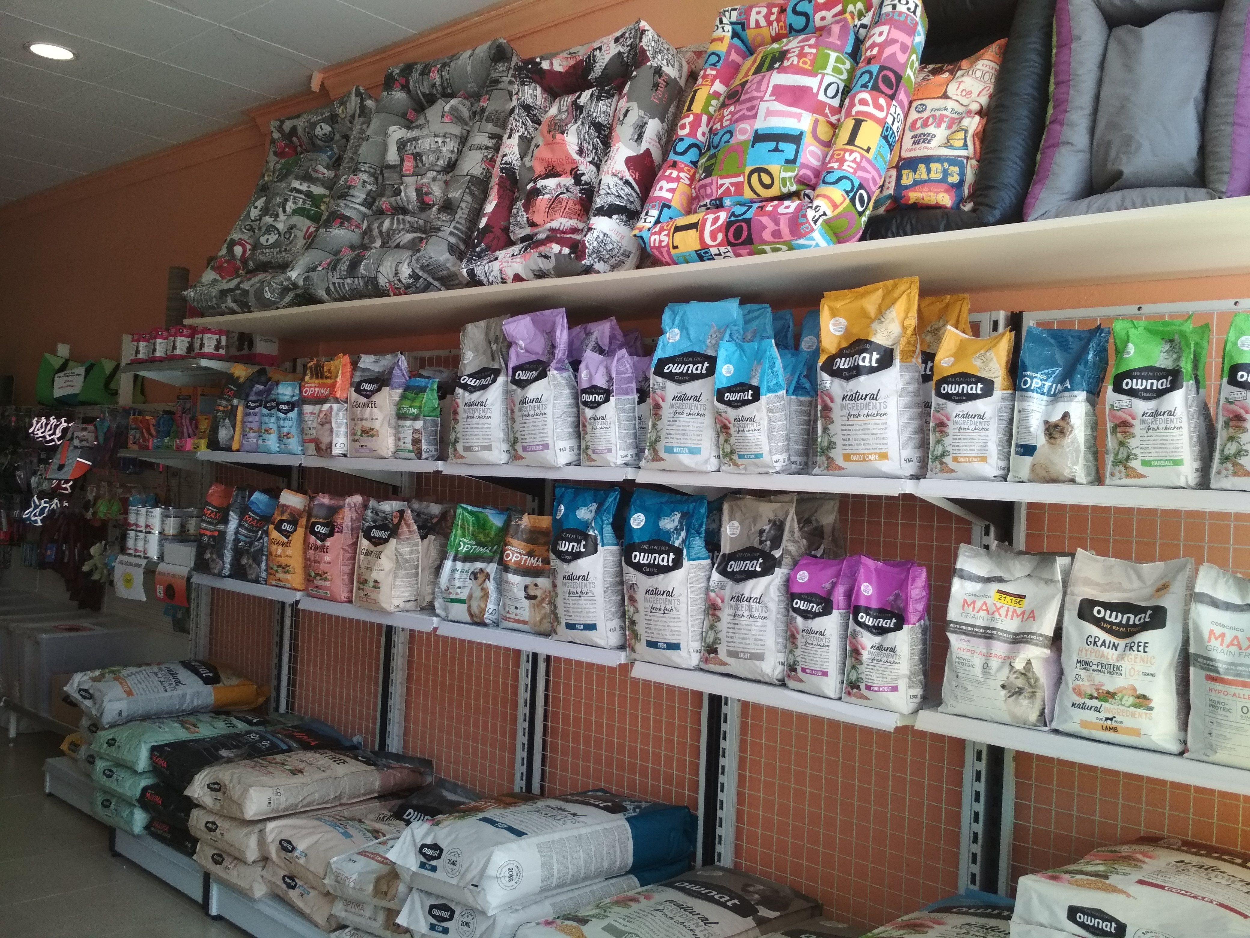 Tienda especializada en nutrición para mascotas en Castellbell y Vilar