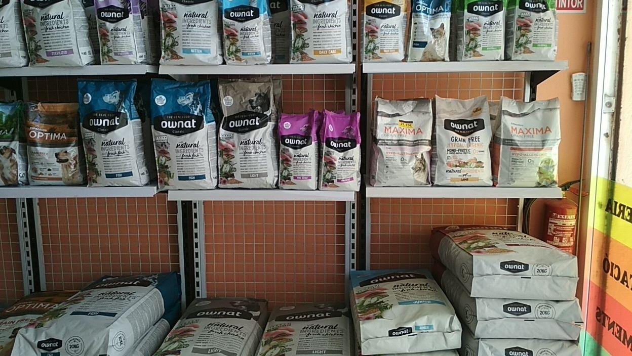 Nutrición para mascotas en Castellbell y Vilar