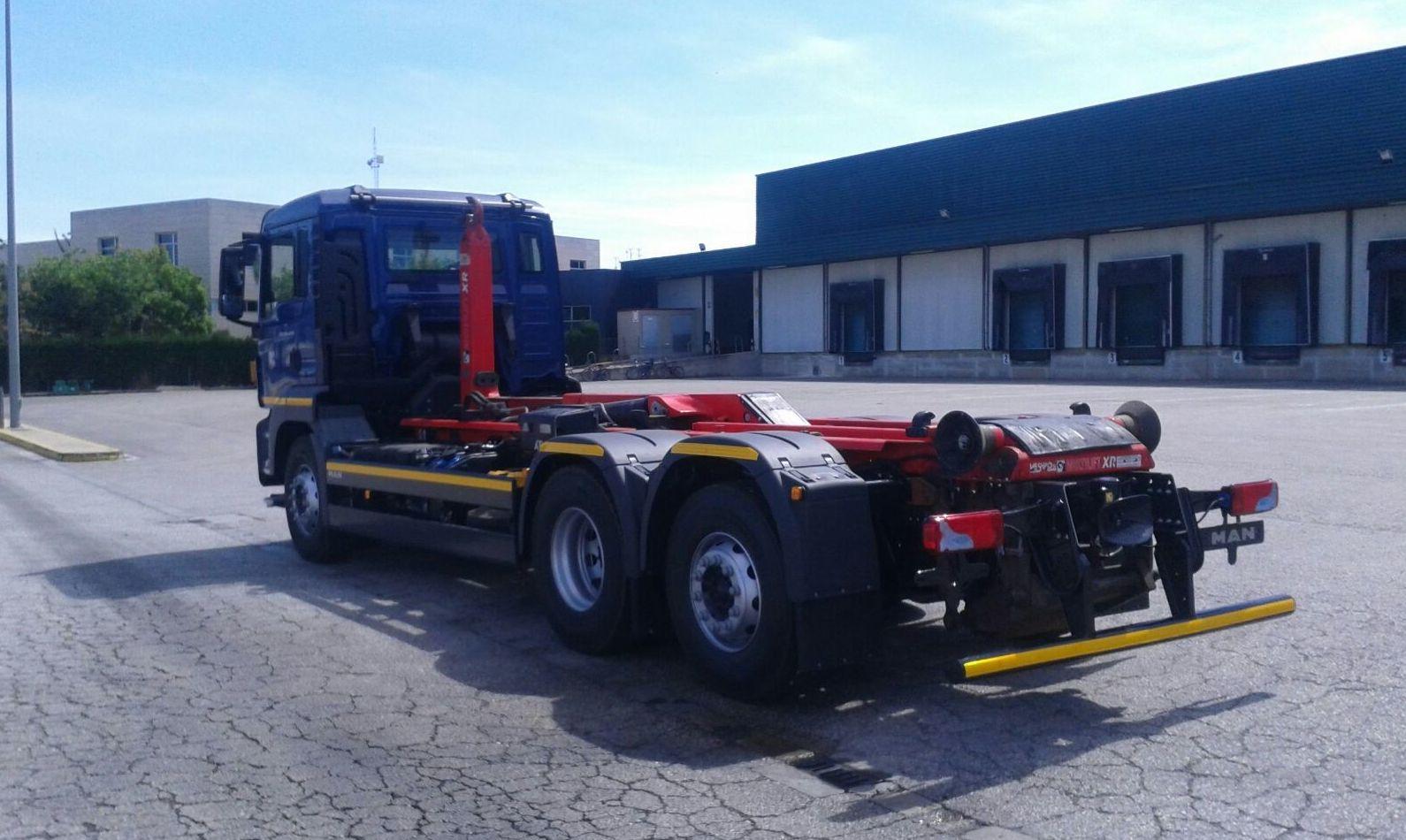 Camiones grúa en Valencia