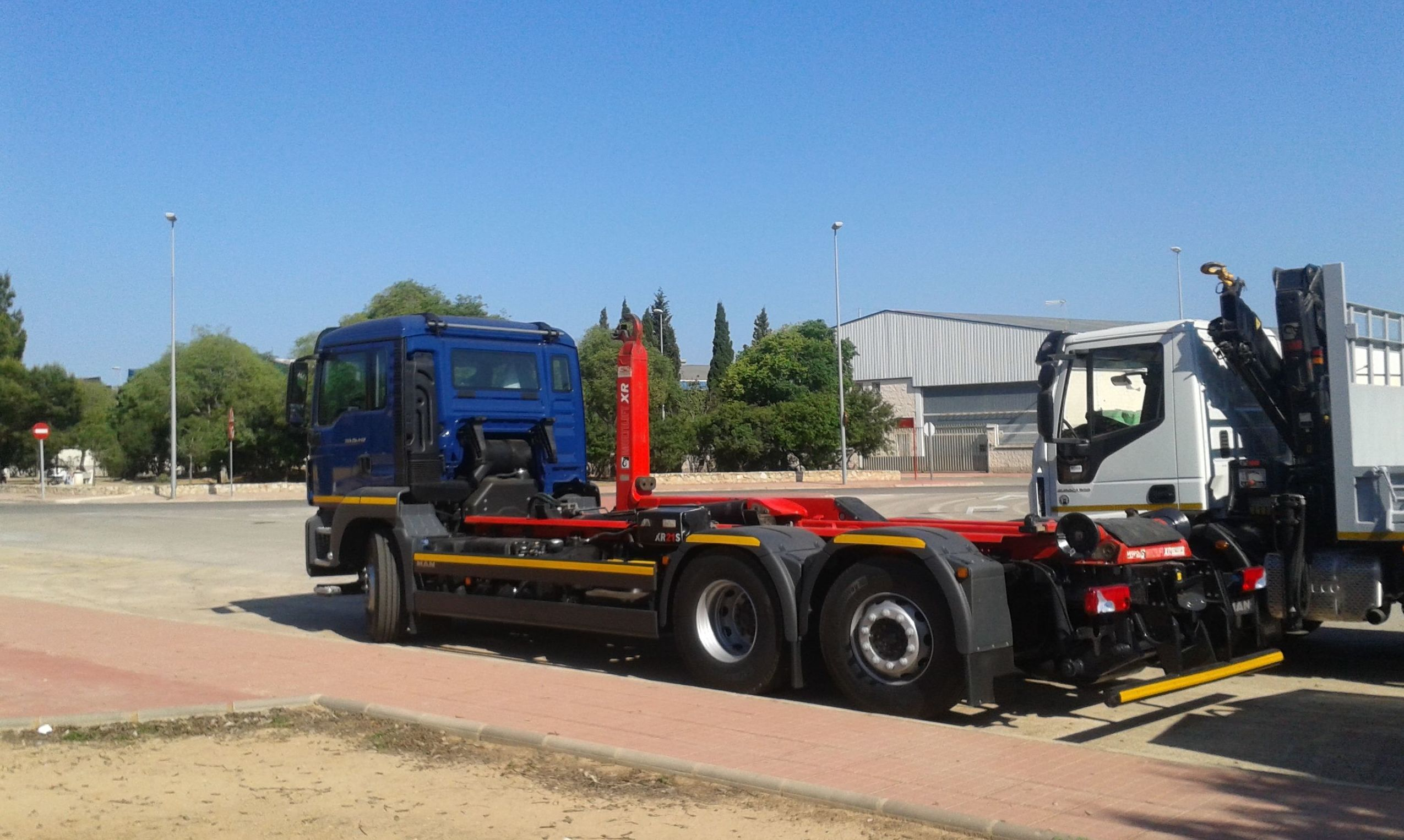 Camión grúa en Valencia