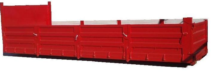 Contenedor rectangular de amplia capacidad