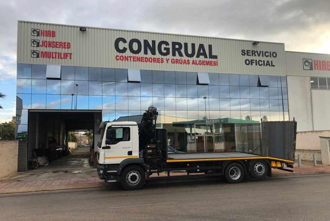 Foto 1 de Grúas para vehículos en Algemesí | Congrual