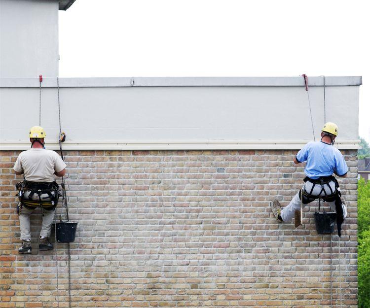 Trabajos verticales en Vizcaya