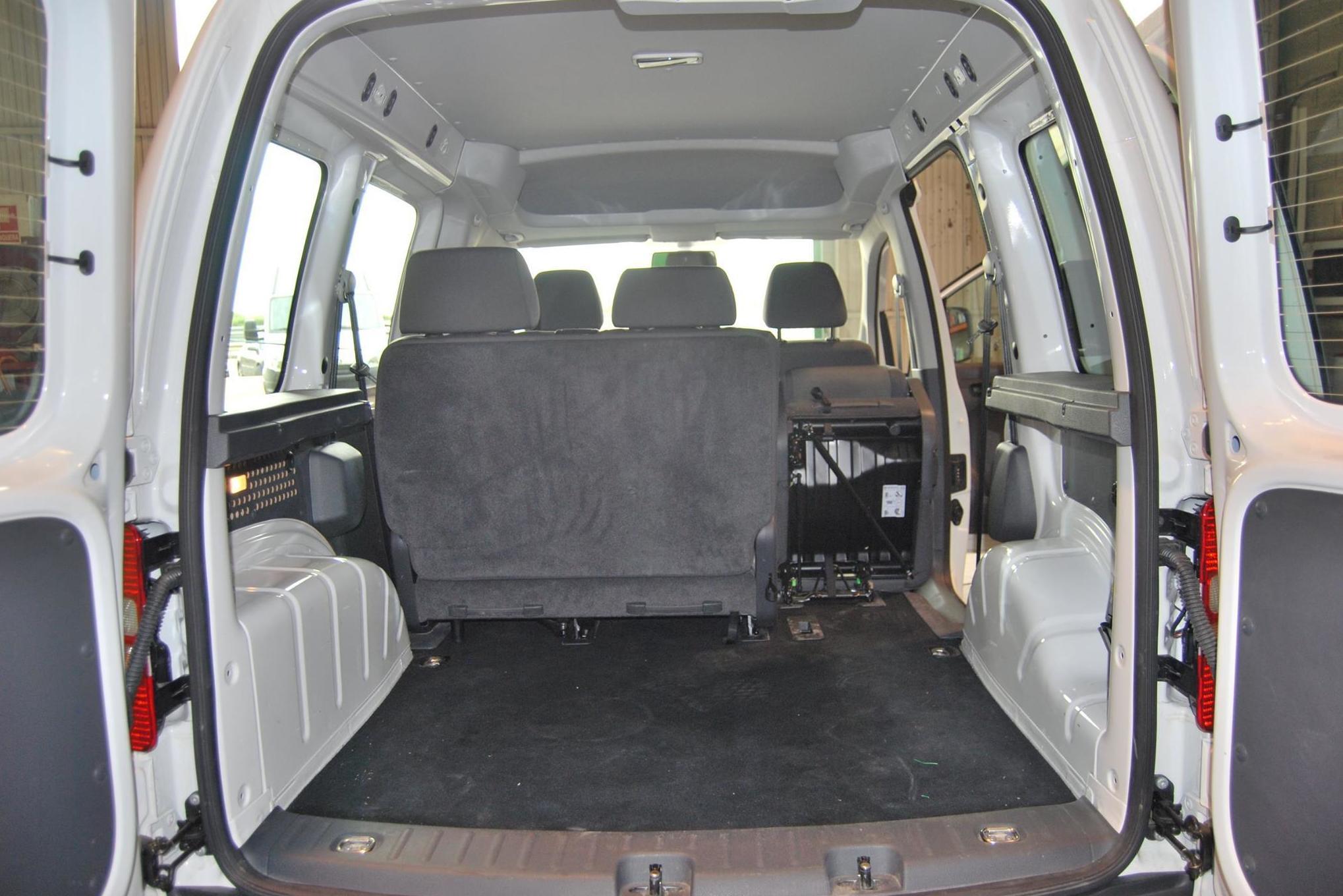 Interior de nuestras furgonetas