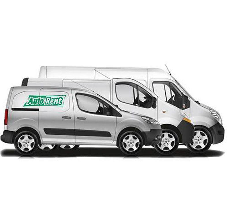Servicio de alquiler de furgonetas