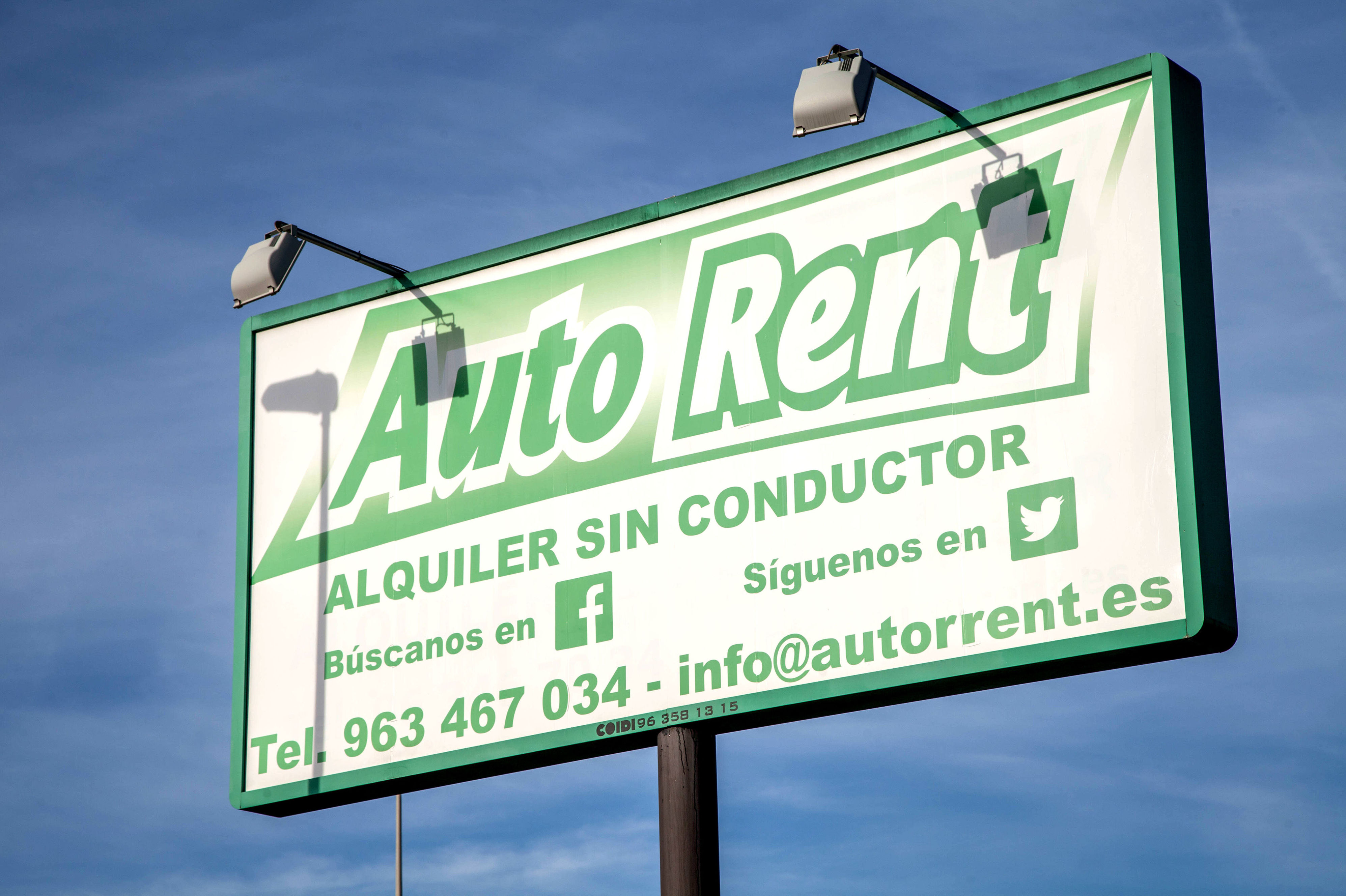 Empresas de alquiler de vehículos en Valencia