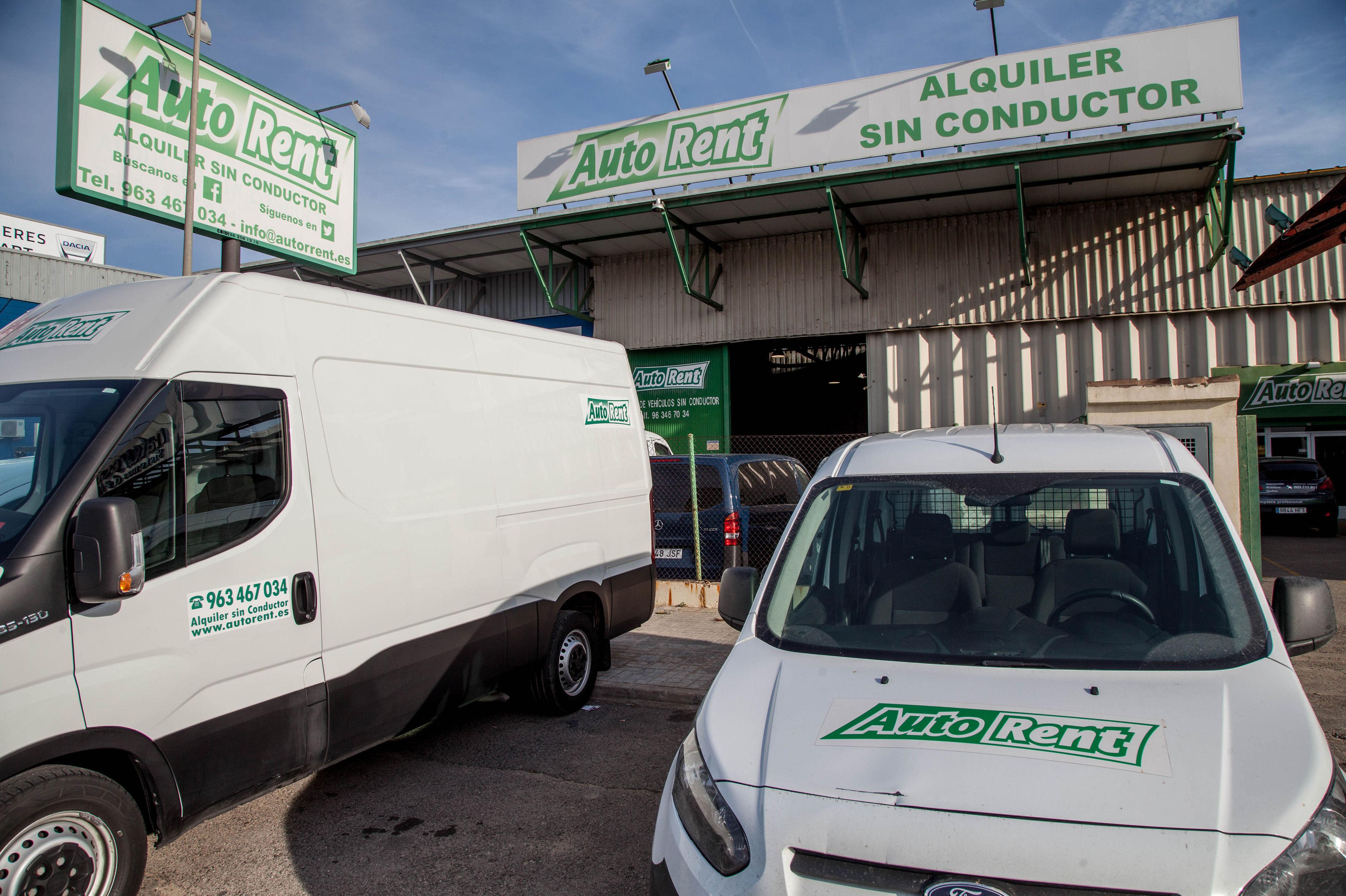 Alquiler de turismos y furgonetas económicos en Valencia