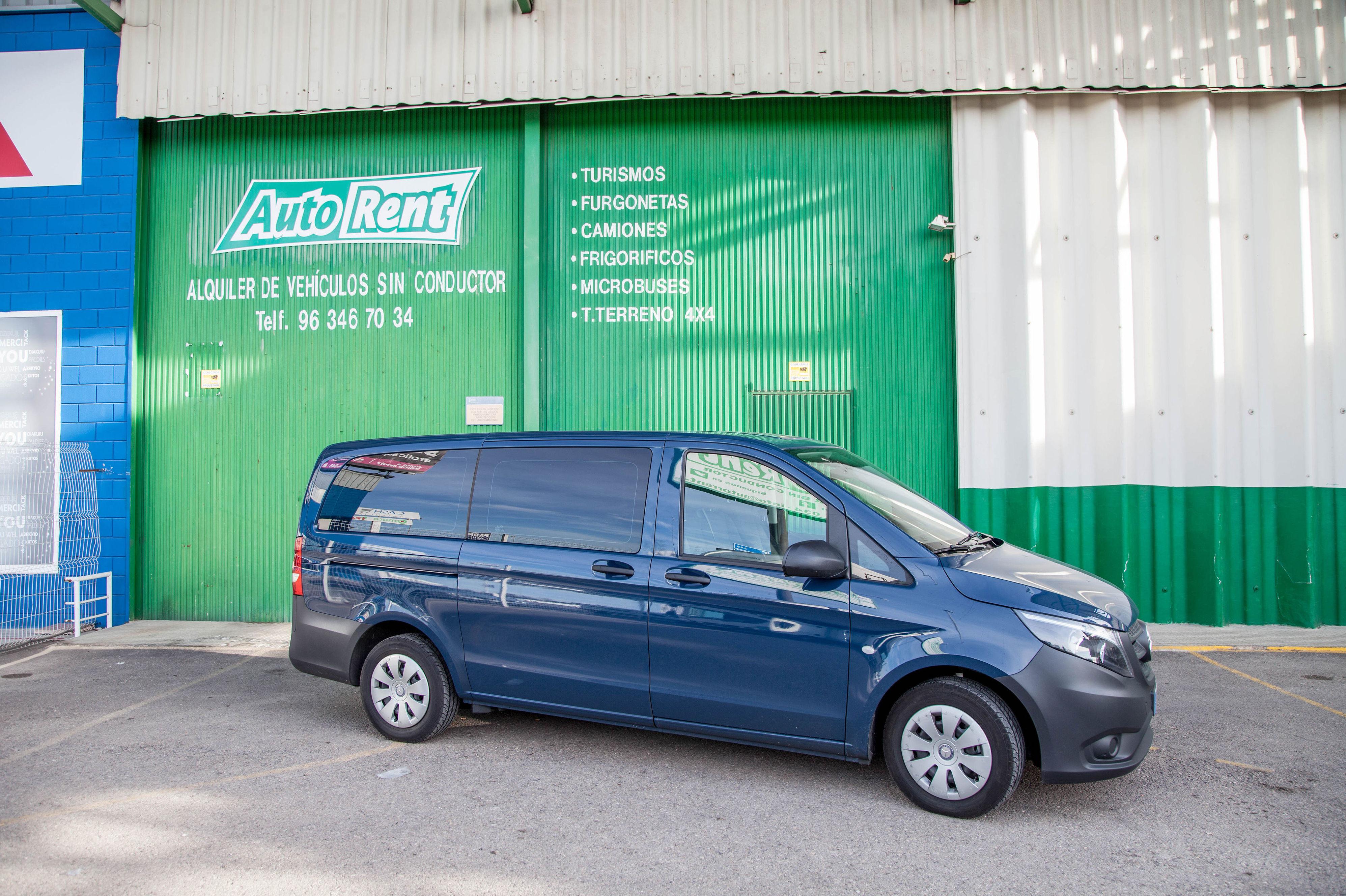 Alquiler de vehículos de 7 plazas en Valencia