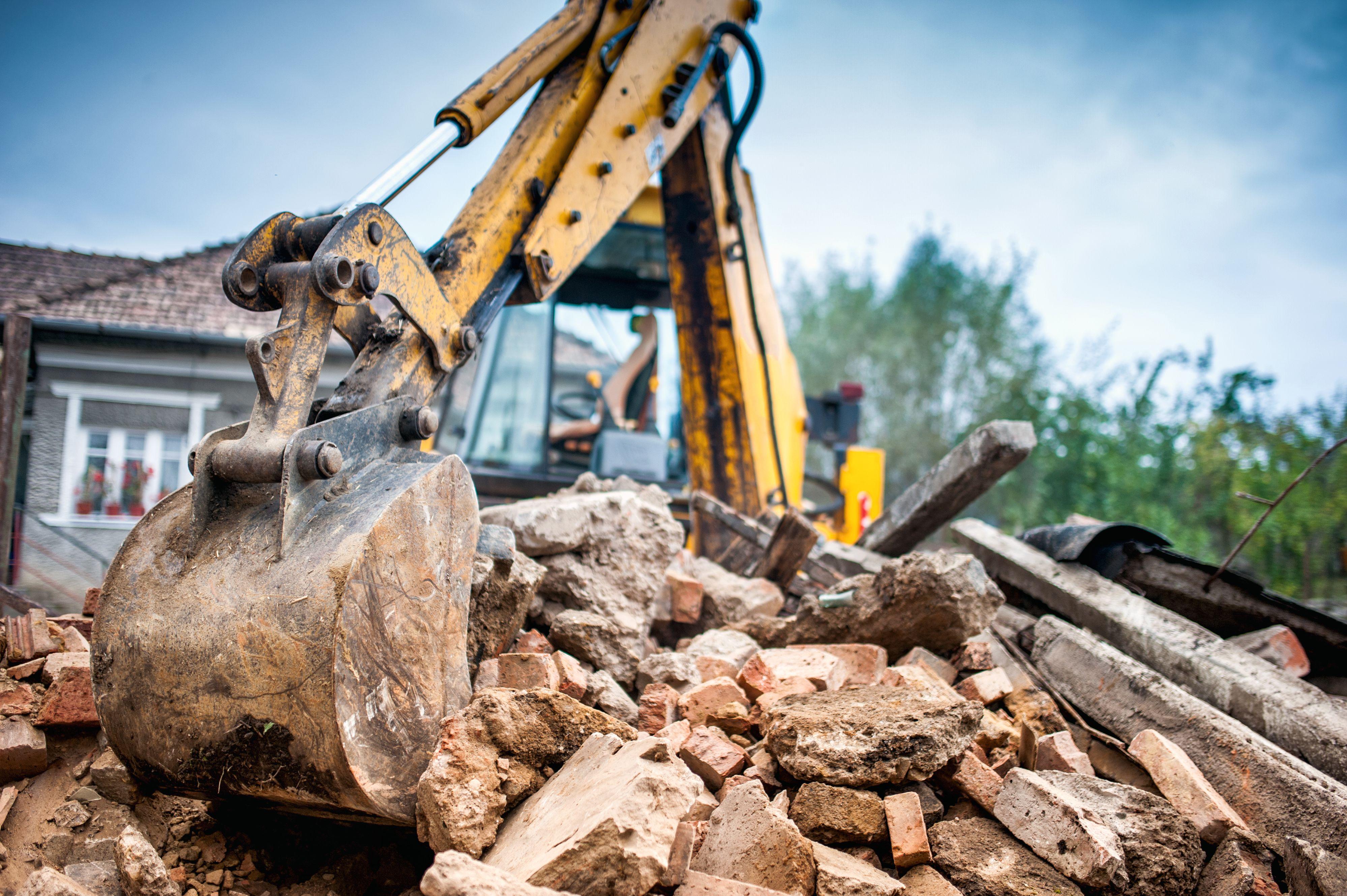 Demoliciones: Servicios de Excavaciones Ginard