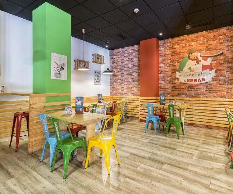 Instalaciones de Pizzería Da Sebas en Alicante