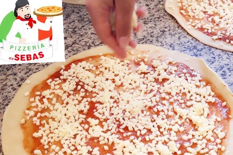 Añádele a tu pizza lo que quieras: Carta de Pizzería Da Sebas