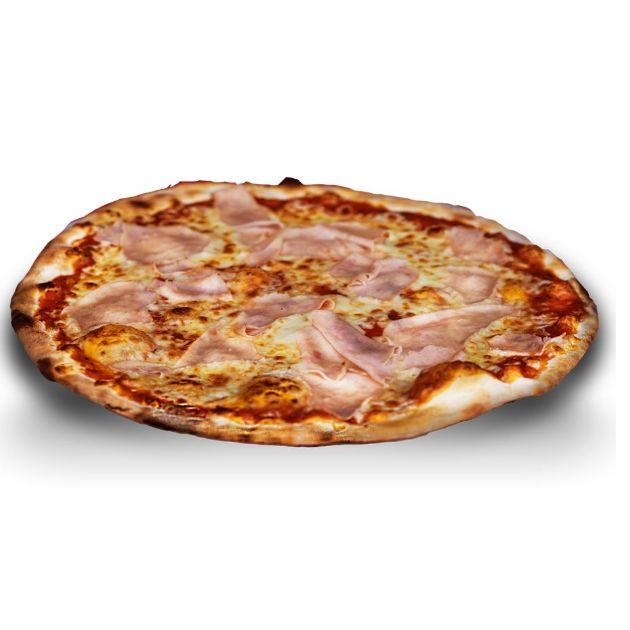 Prosciutto cotto e funghi: Carta de Pizzería Da Sebas