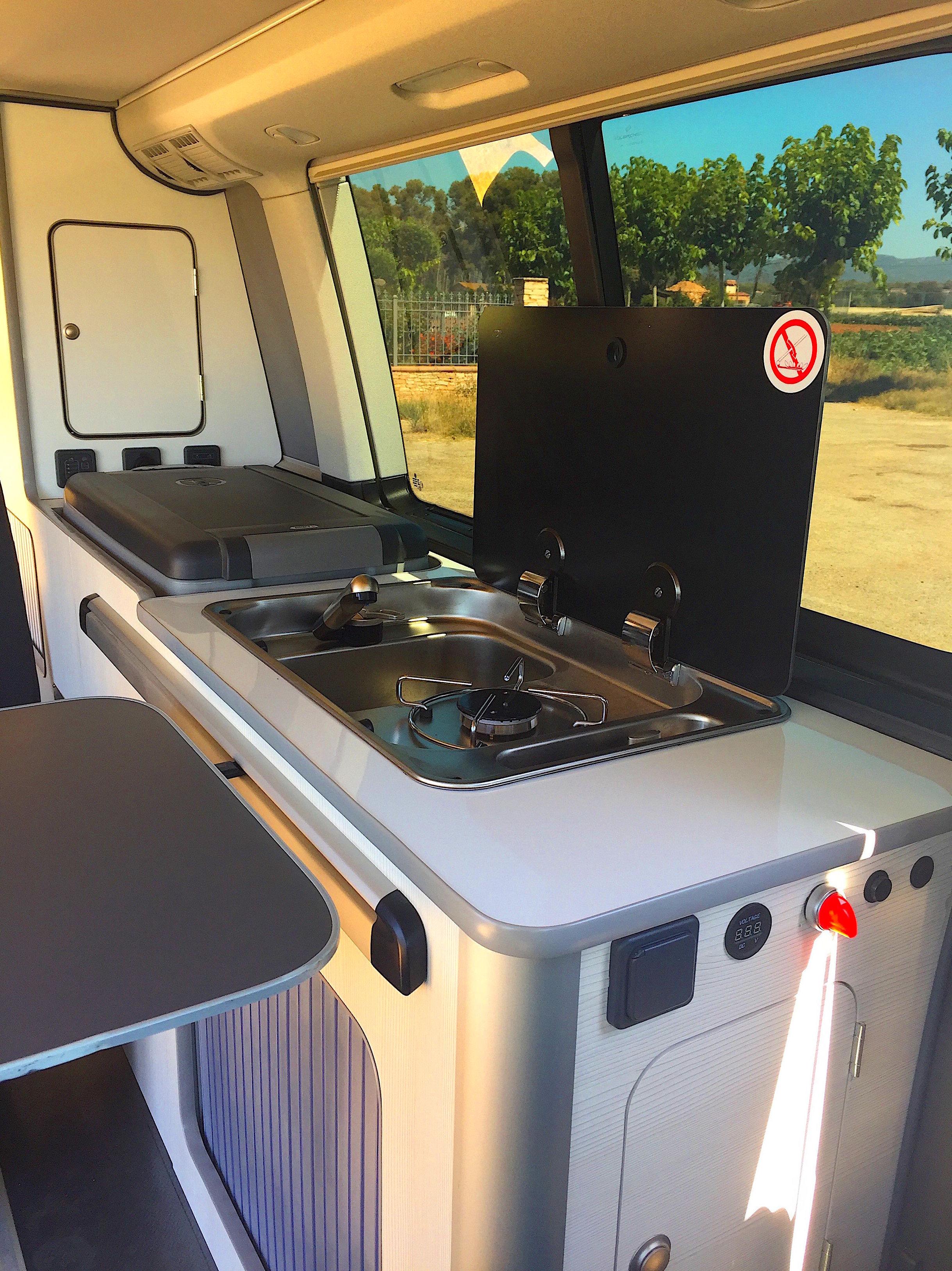 Camperización Volkswagen T5