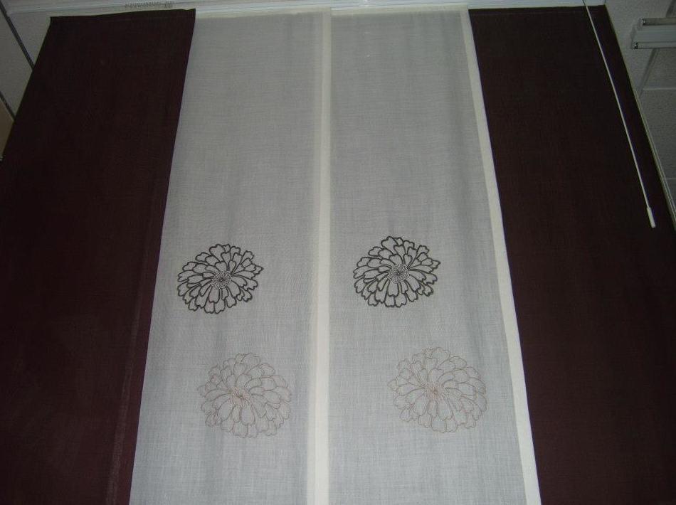 Confección panel japonés: Servicios de Paquita & Olga Decoración