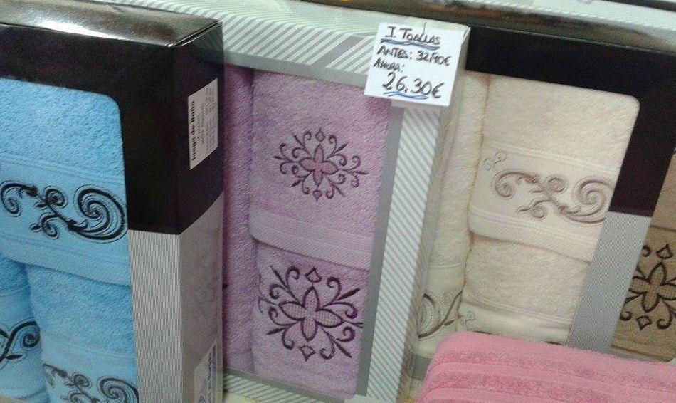 Venta de juegos de toallas
