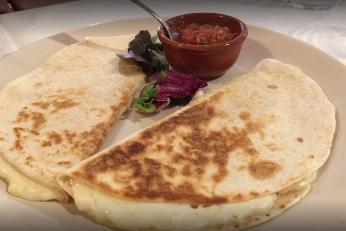 Quesadillas del restaurante mexicano El Nopal