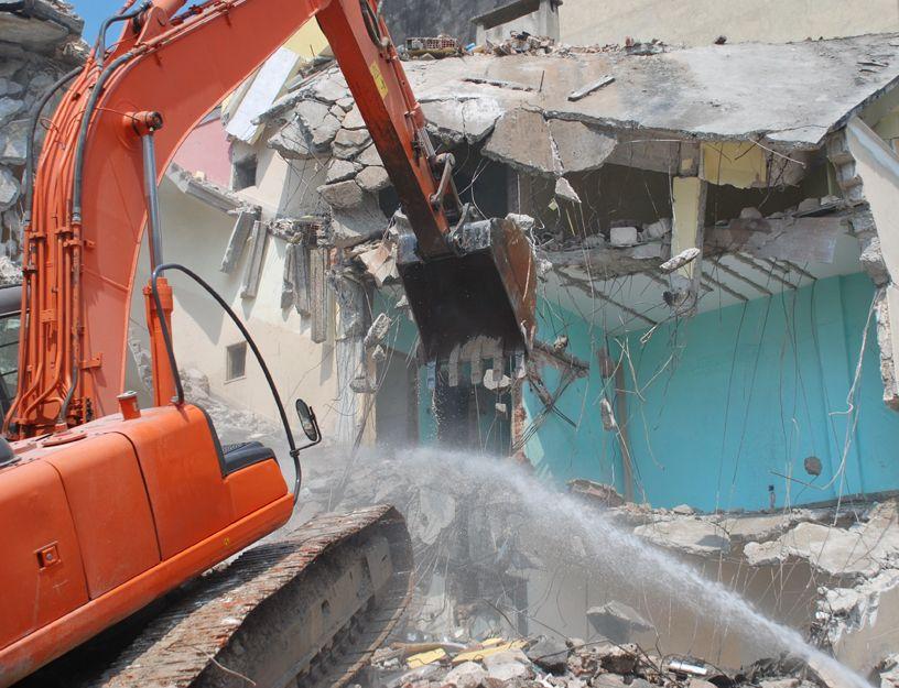 Derribos y demoliciones en A Coruña