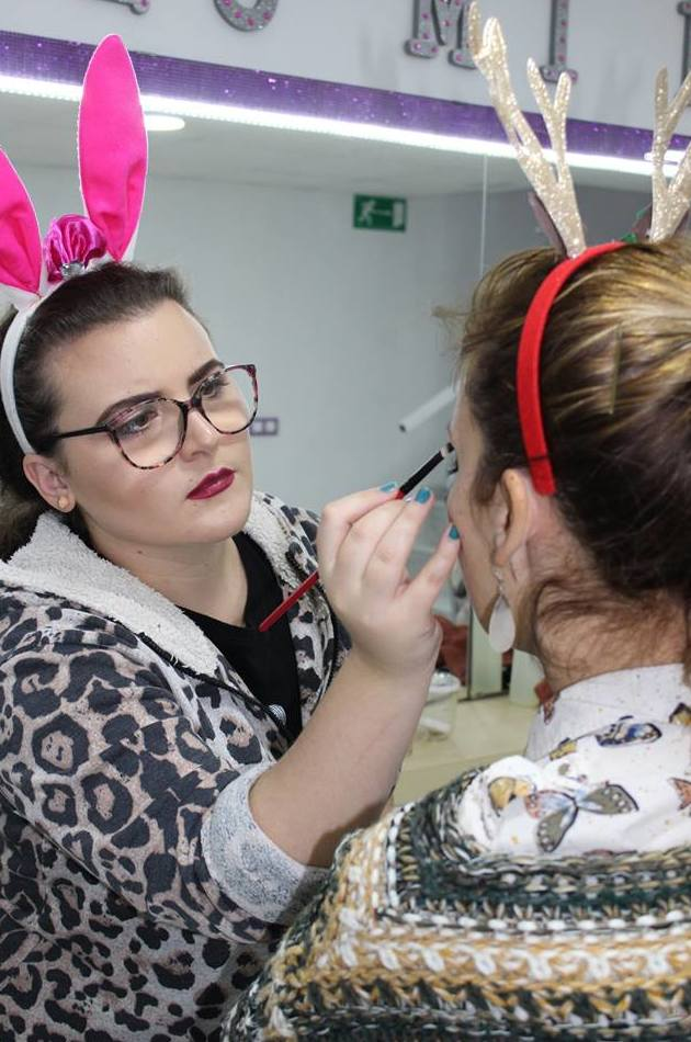 Beauty Party: Servicios de Brush Up Escuela