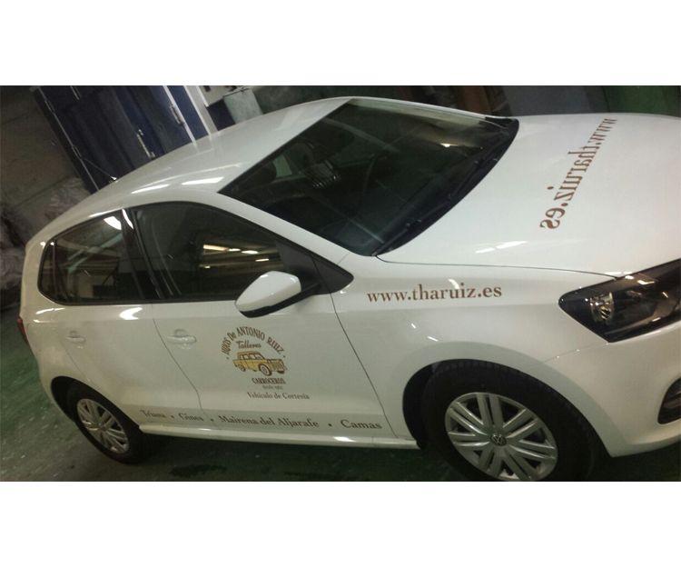 Rotulación de vehículos de empresa